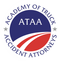 Truck Accident Attorney Badge